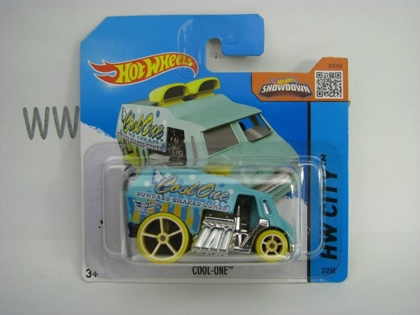 Hot Wheels 2015 Cool-One HW City CFL70
